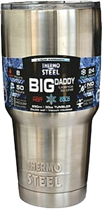 Rugged SA Thermosteel Frosty 590ml Vacuum Tumbler No Handle