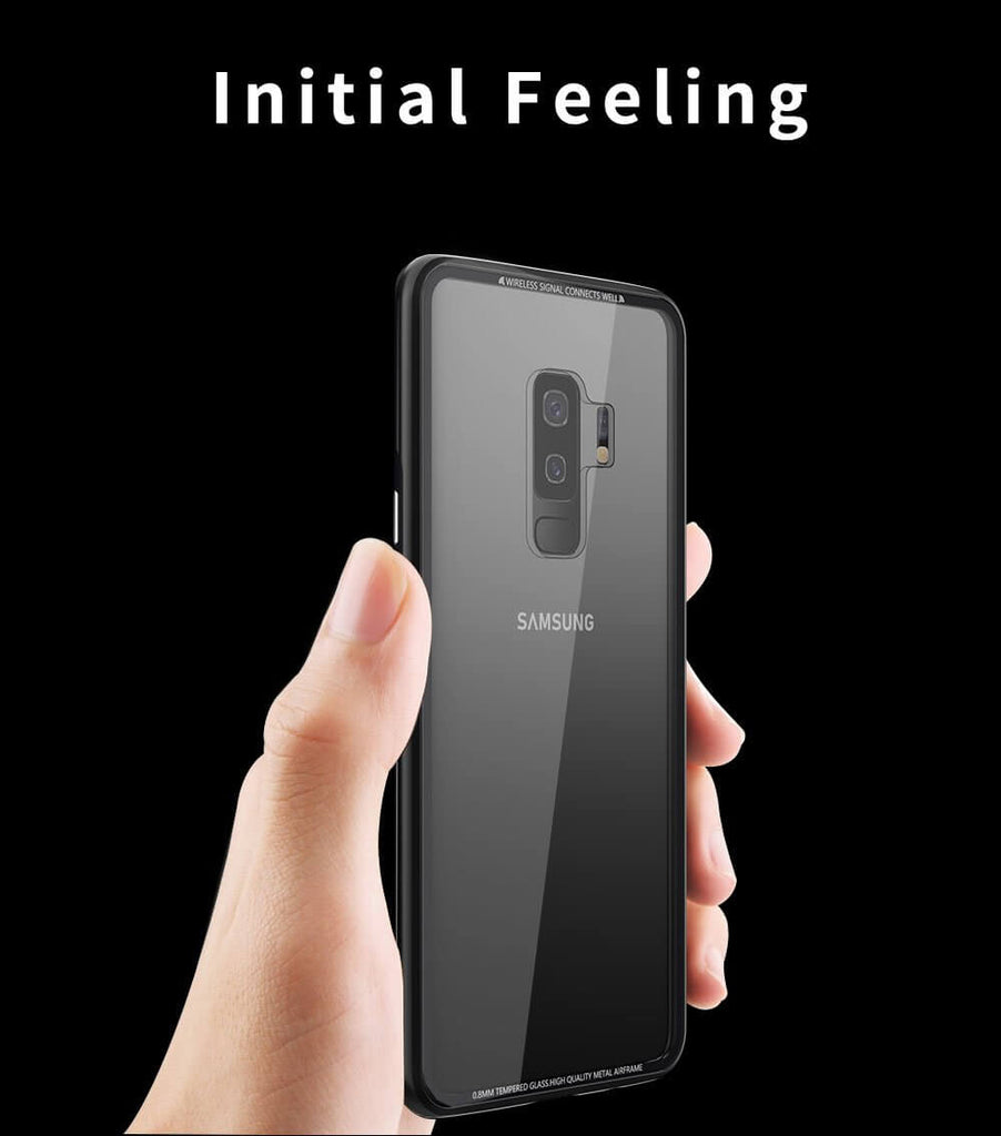 Rugged SA R-Just Hermit Metal Shockproof Shell cover for Samsung Galaxy S9/S9 Plus