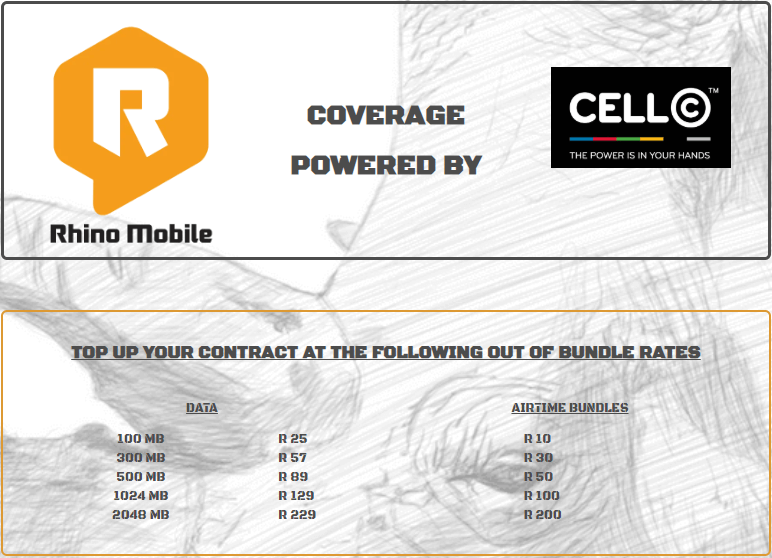 Rhino Mobile Contracts Rugged SA