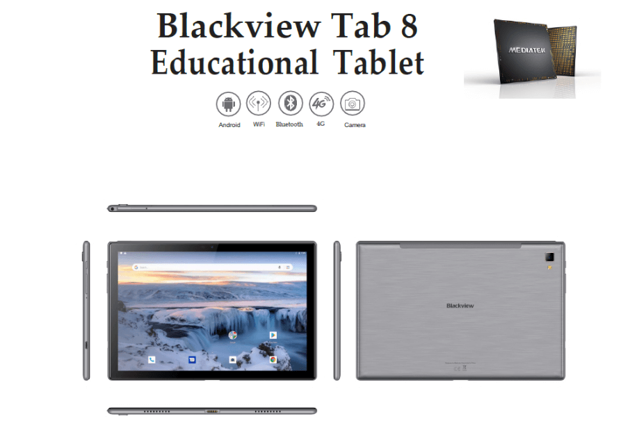 Rugged SA Blackview Tab 8 10.1 inch Android 10.0 4GB 64GB Tablet