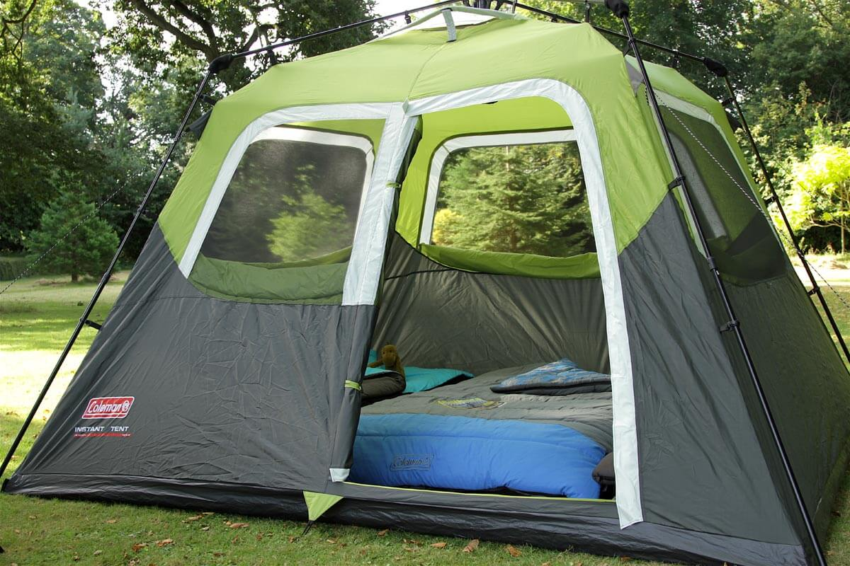 Rugged SA Coleman Tent FastPitch Instant Cabin 8 2000026683