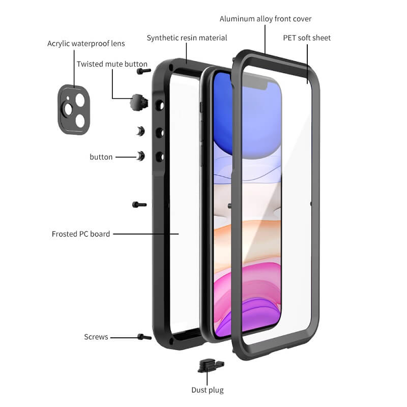 Rugged SA ELITE 360 Gladiator Case for iPhone 11 Pro