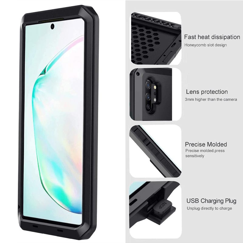 Rugged SA ELITE 360 Tank Armor Case for Samsung Galaxy Note 10 Plus