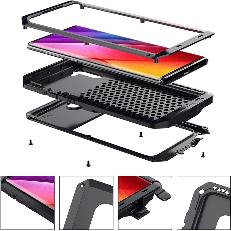Rugged SA ELITE 360 Tank Armor Case for Samsung Note 10