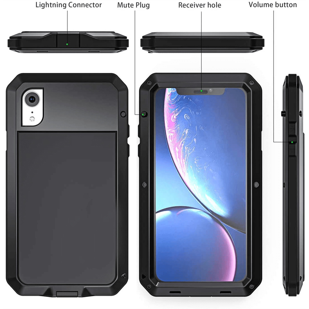 Rugged SA ELITE 360 Tank Armor Case for iPhone XR