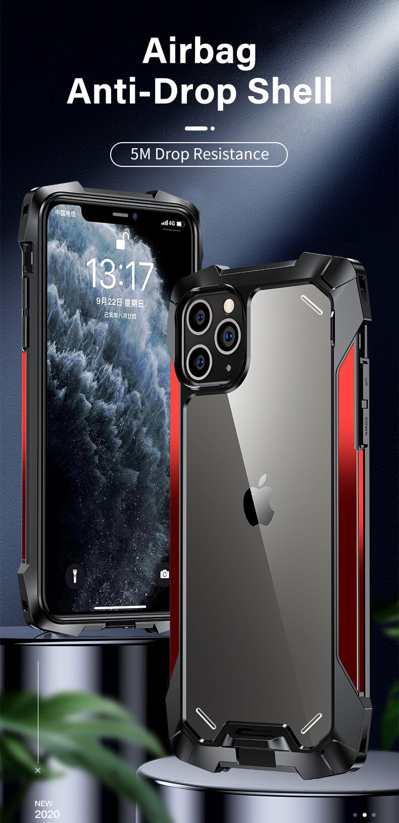 Rugged SA ELITE Tank Armor Case for iPhone 11