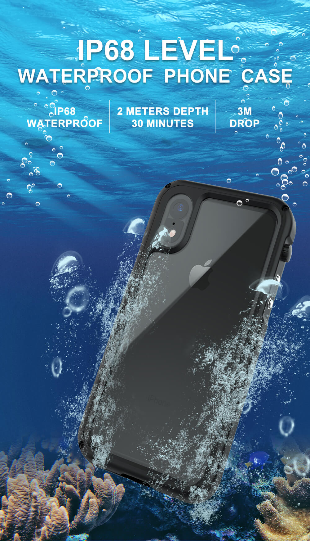 Rugged SA Gladiator Case for Iphone X