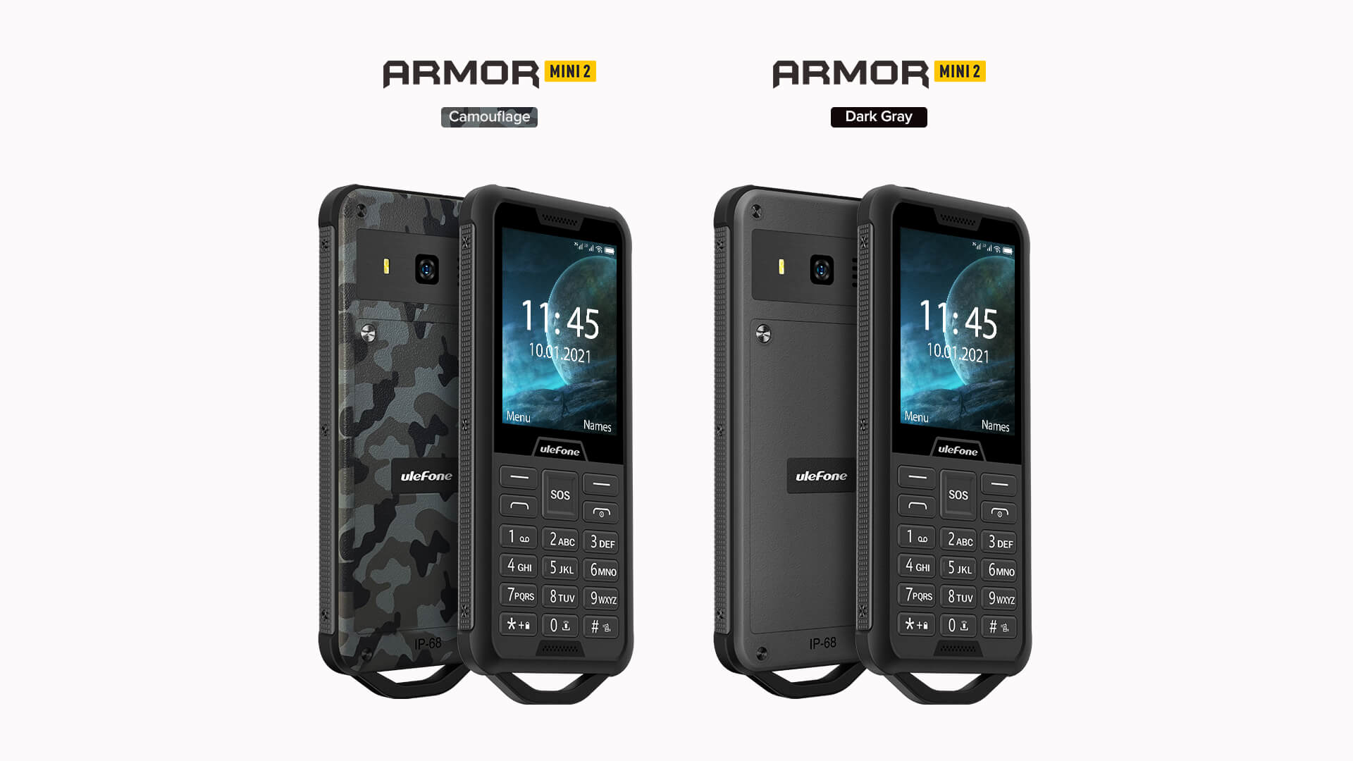 Rugged SA UleFone Armor Mini 2 Rugged Phone