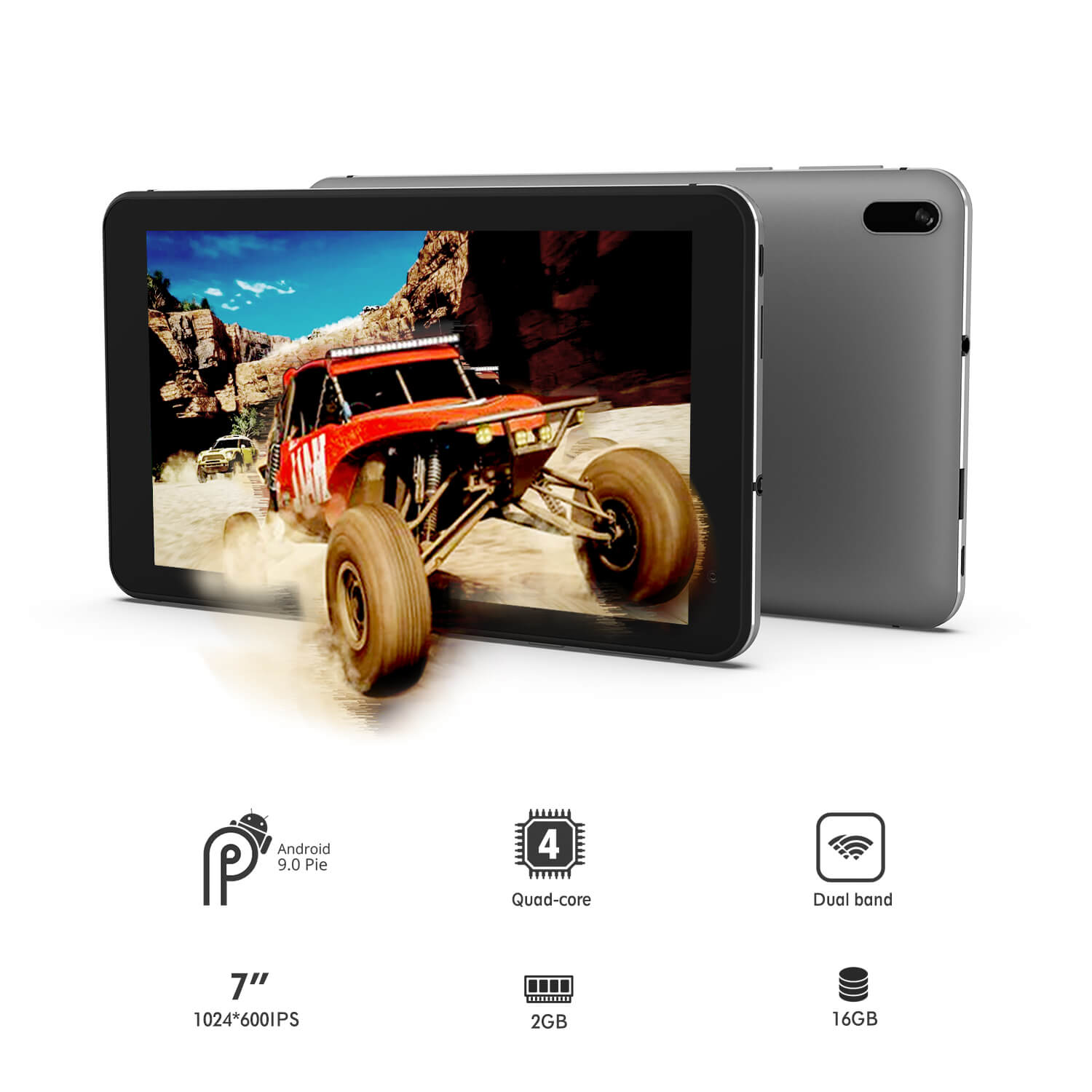 Rugged SA Winnovo T7 Pro 7inch Android 9.0, 2GB, 32GB, EdutTab Tablet
