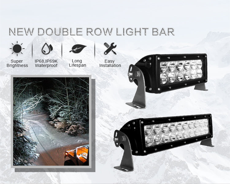 ALO-10-P4E4J Rugged SA Dual LED Bar