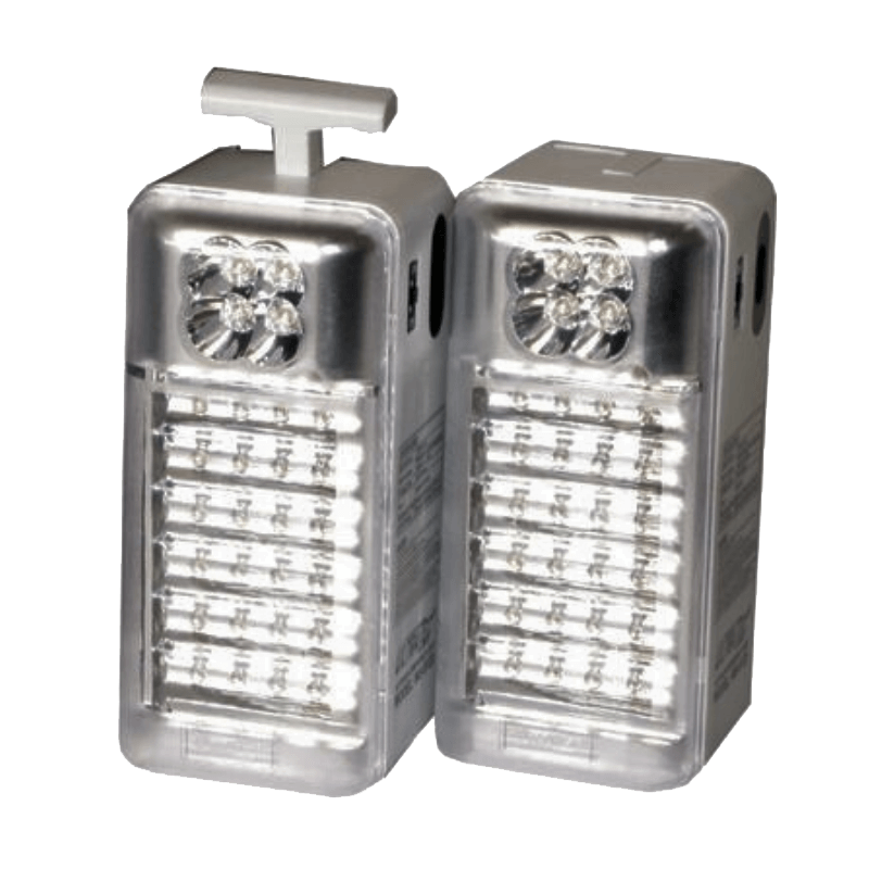 Rugged SA UltraTec Emergency Camping LED Light AC/DC 2 Pack