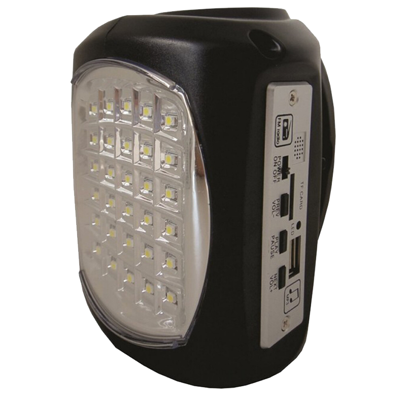 Rugged SA UltraTec Lil' Bud Rechargeable Emergency LED Light and Solar Kit