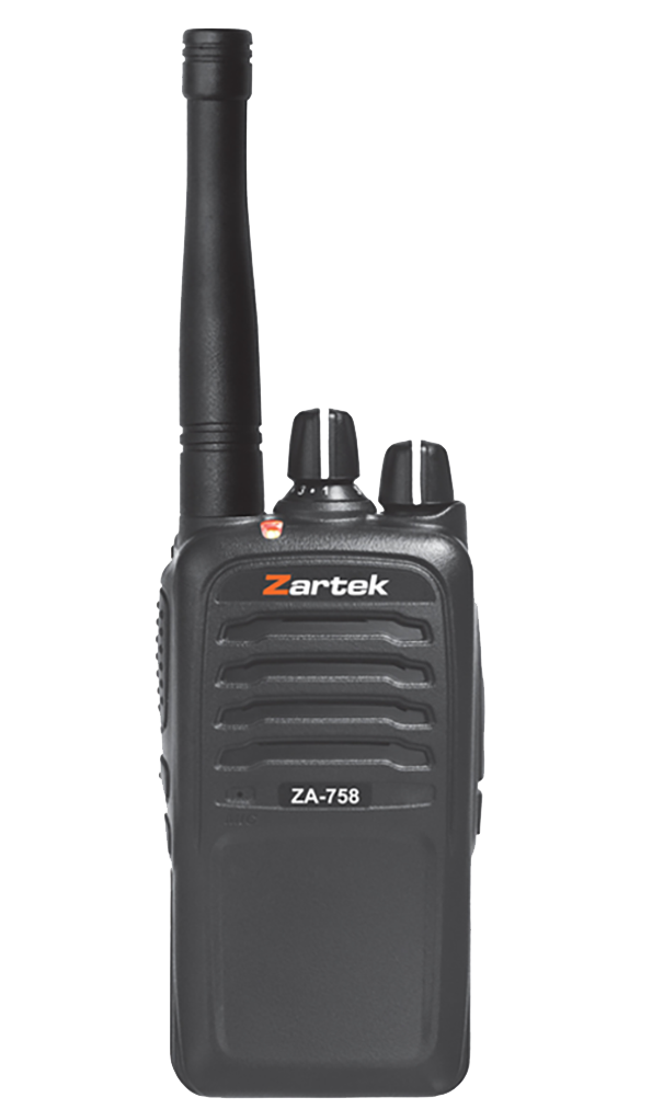 Rugged SA Zartek ZA-758 Free Licence Two-Way Radio