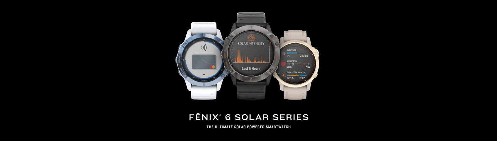 Garmin fēnix 6S Pro Solar Edition, Multisport fitness Smart Watch - Rugged SA