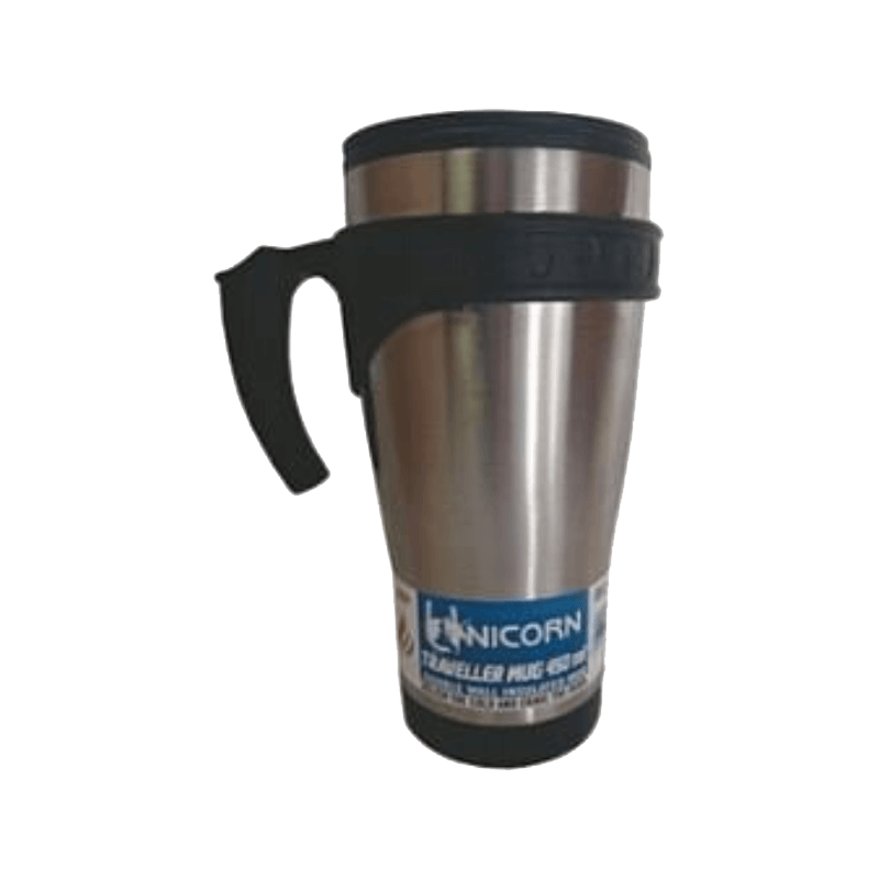 Rugged SA Unicorn Traveller 470ML S/Steel Mug W/Handle