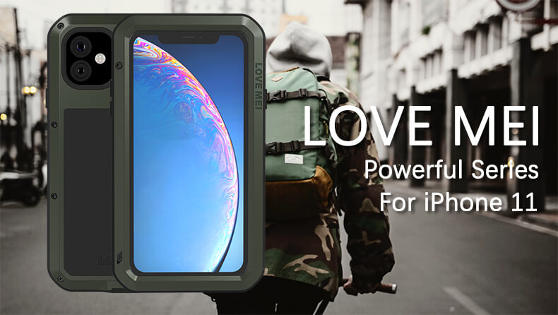 Rugged SA Love Mei Rugged Cover for iPhone 11