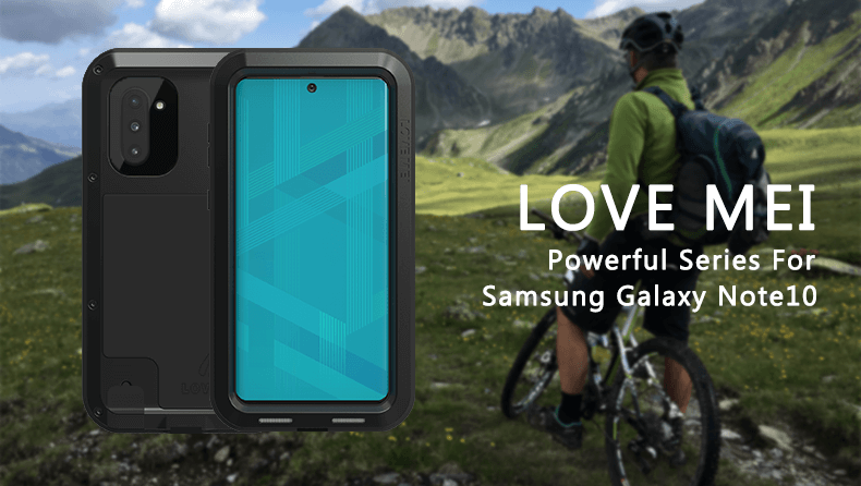 Rugged SA Love Mei Powerful Series Rugged Cover Samsung Galaxy Note 10