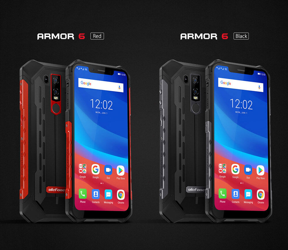 Ulefone Armor 6 Black & Red