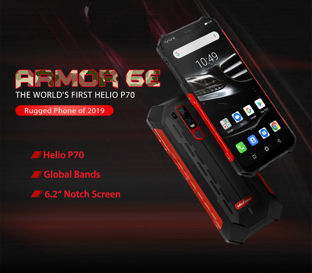 Rugged SA Ulefone Armor 6E