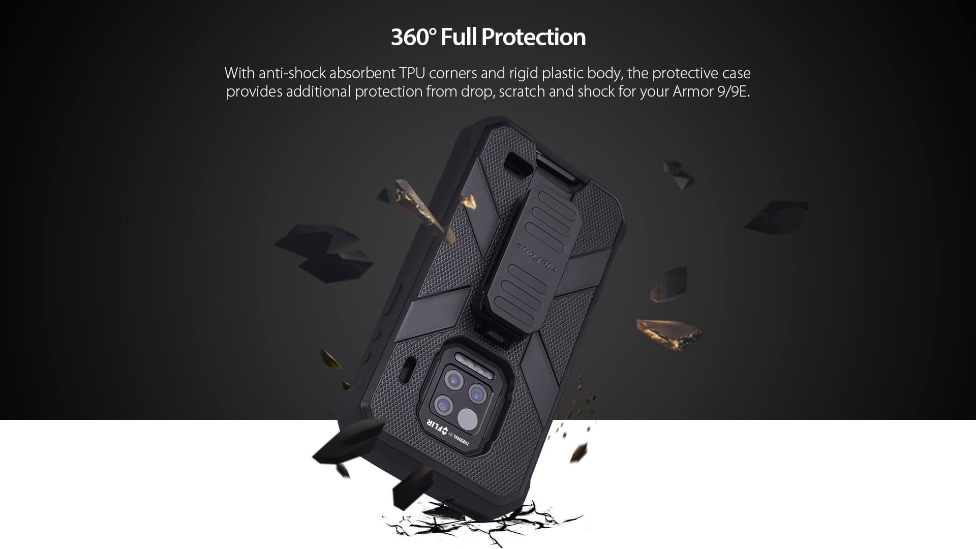 Rugged SA - UleFone Armor 9/9E Multifunctional Protective Case