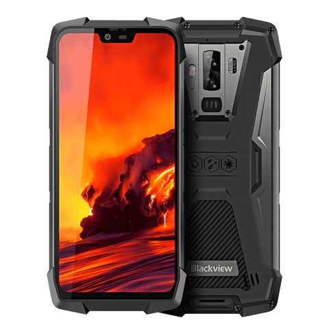 Blackview BV9700 Pro Rugged Android 9.0 Smartphone - 6GB, 128GB, IP68, IP69K, Dual-SIM