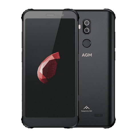 AGM X3 Rugged Android 8.1 Smartphone - 8GB, 128GB, IP68, Dual-Sim