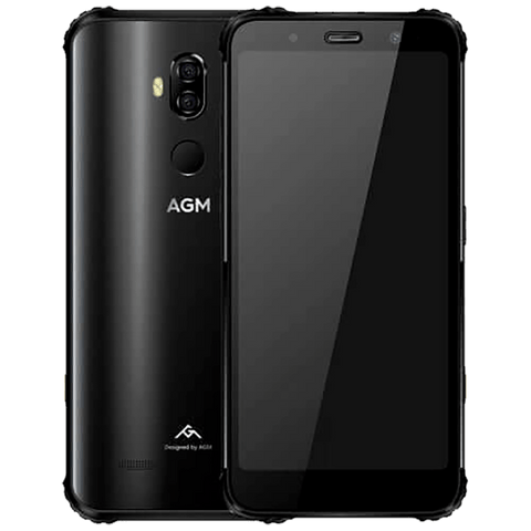 AGM X3 Rugged Android 8.1 Smartphone - 8GB, 64GB, IP68, Dual-Sim, Matte Back