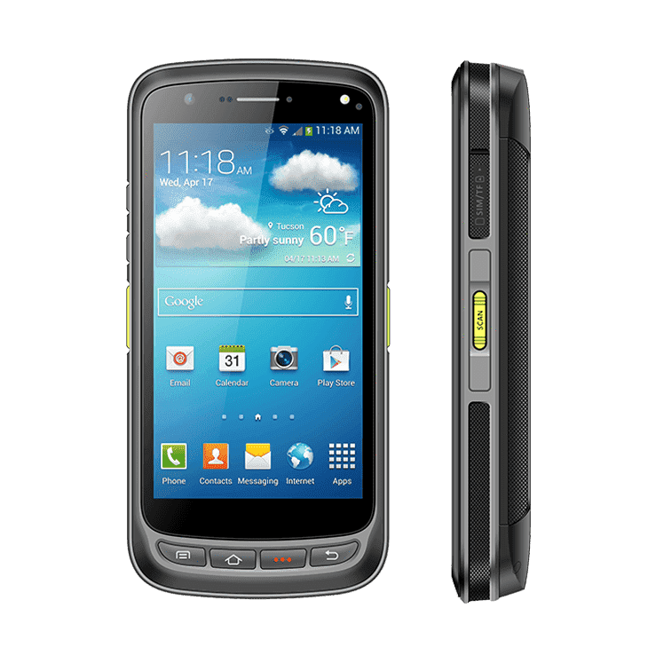 "Chainway C72 - Android 5.2""  Rugged 1D/2D Barcode Scanning Terminal"