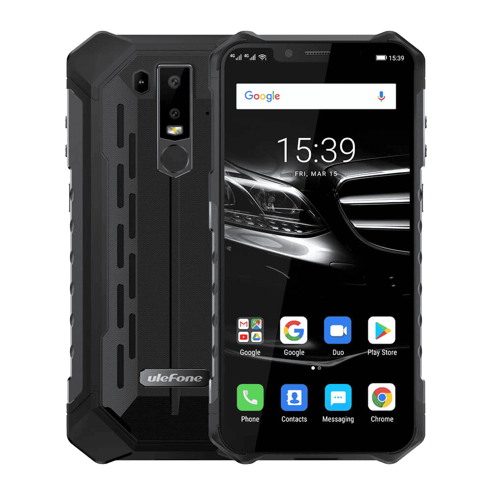 UleFone Armor 6S Rugged Android 9.0 Smartphone - 6GB, 128GB, Dual-SIM, IP68