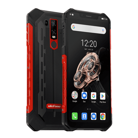 UleFone Armor 6S Rugged Android 9 Smartphone - 6GB, 128GB, Dual-SIM, IP68