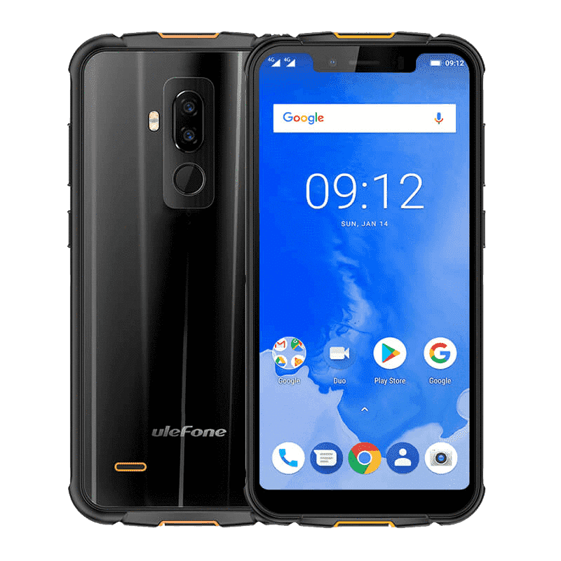 UleFone Armor 5S Rugged Android 9.0 Smartphone - 4GB, 64GB, Dual-SIM, IP68
