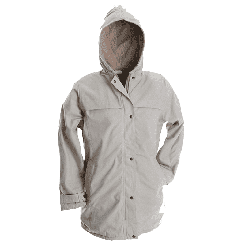 Rugged SA Bokmakierie Ladies Parka Jacket - Stone