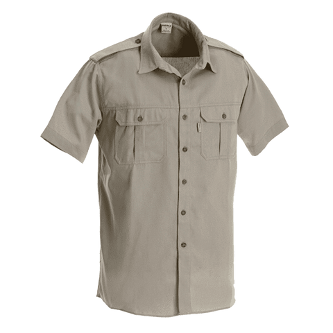 Rugged SA Buffalo Short Sleeve Shirt - Safari Khaki