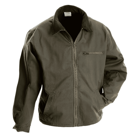 Rugged SA Mens Bush Jacket - Military