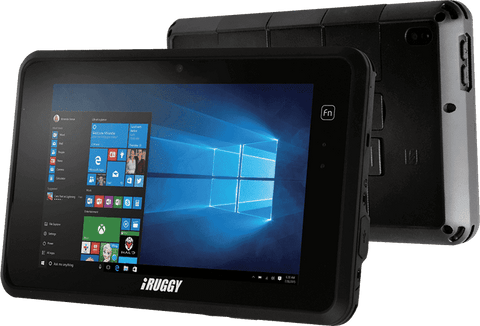 "iRuggy - G8s 8"" Windows 10/Android 7.0, 4GB, 64GB, 1D/2D Rugged Scanning Tablet"