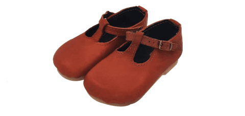 Mini Jaunt Chester Tabacco Vellies - Girls All Sizes