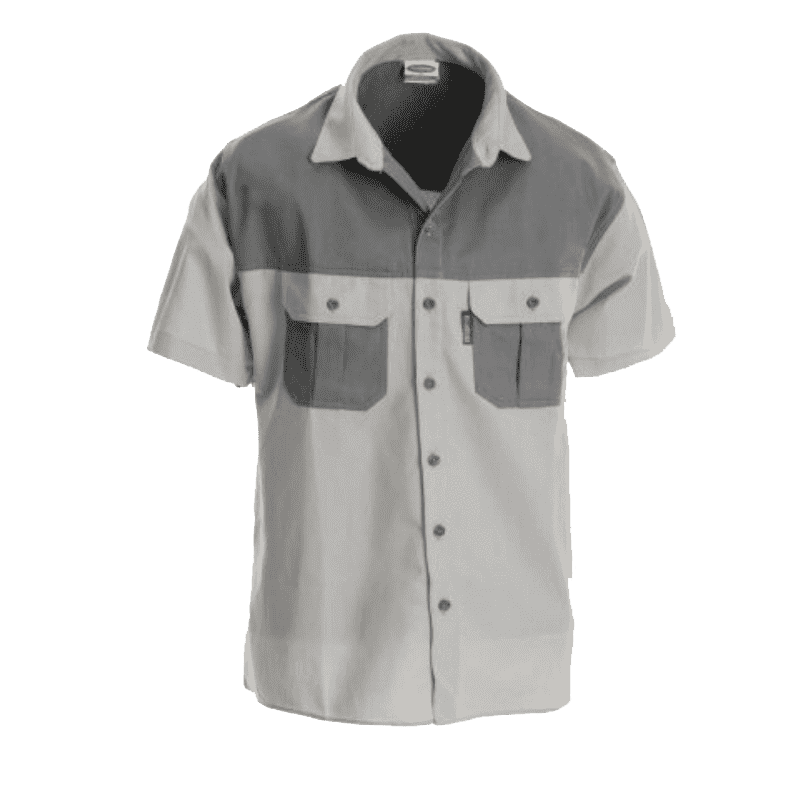 Rugged SA Kiddies Shirts - Stone/Olive