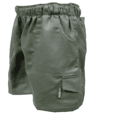 Rugged SA Kiddies Shorts - Olive