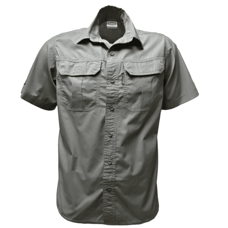 Rugged SA Ratel Short Sleeve Shirt - Olive