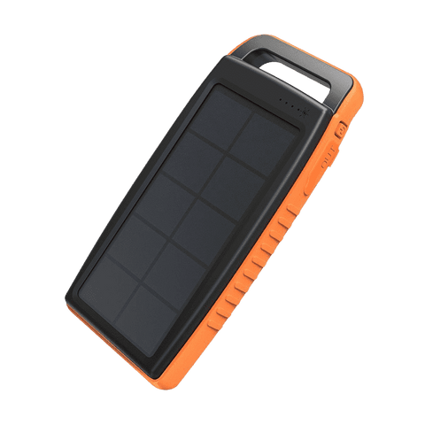 RAVPower 15000mAh Solar Power Bank - Dual USB, IP66