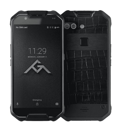 AGM X2 SE Rugged Android 7.1 Smartphone - 6GB, 64GB, IP68, Dual-Sim Black