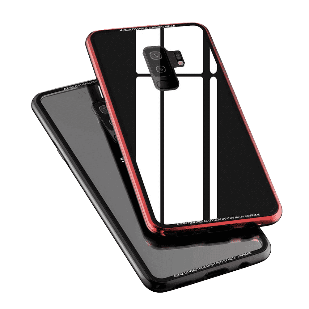 R-Just Hermit Metal Shockproof Shell cover for Samsung Galaxy S9 Plus