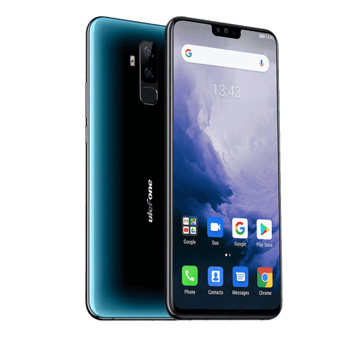 Ulefone T2 Android 9.0 Smartphone - 6GB, 128GB, Dual-SIM, Face-ID