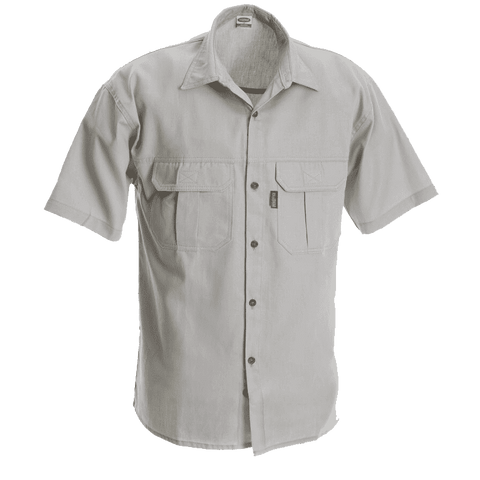 Rugged SA Serengeti Short Sleeve Shirt - Stone