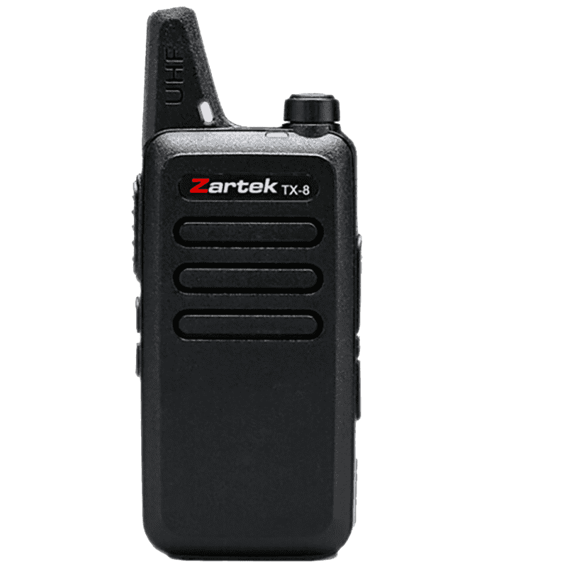 Zartek - TX-8 Ultra Thin & Compact Two-Way Radio