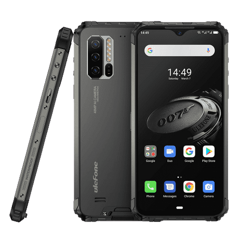 UleFone Armor 7E Rugged Android 9.0 Smartphone - 4GB, 128GB, Dual-SIM, IP68