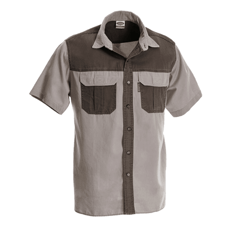 Rugged SA Wag 'n Bietjie Short Sleeve Shirt - Stone/Sage