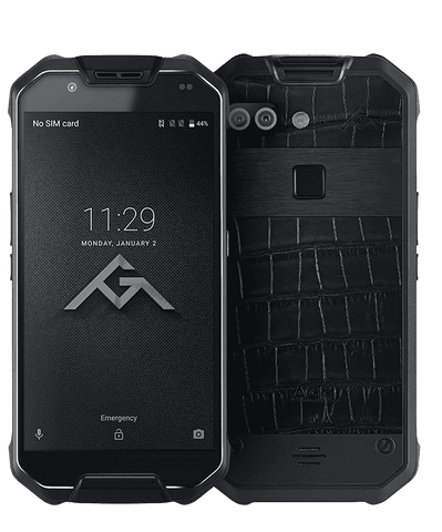 AGM X2 Pro Rugged Android 7.1 Smartphone - 6GB, 128GB, IP68, Dual-Sim
