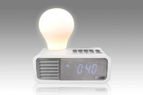 Bluetooth Speaker - SDIGITAL LIGHTYEAR Alarm Clock Bluetooth Speaker