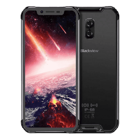 Blackview BV9600 Pro Rugged Android 8.1 Smartphone - 6GB, 128GB, IP68, Dual SIM